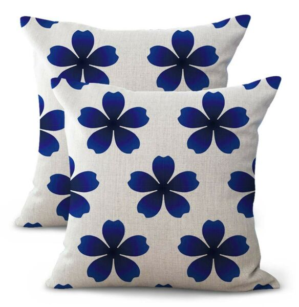 set of 2 patio furniture cushion covers Talavera Azulejos Spanish $21.96