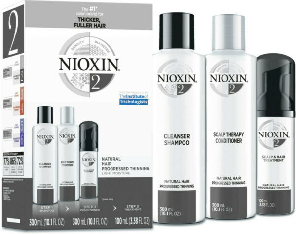NIOXIN HAIR SYSTEM KIT #2 for Thinning Hair - NEW IN BOX
