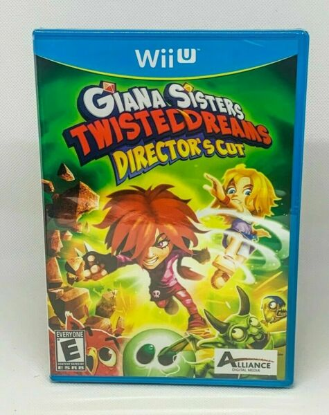 Giana Sisters: Twisted Dreams Director#x27;s Cut Nintendo Wii U Brand New