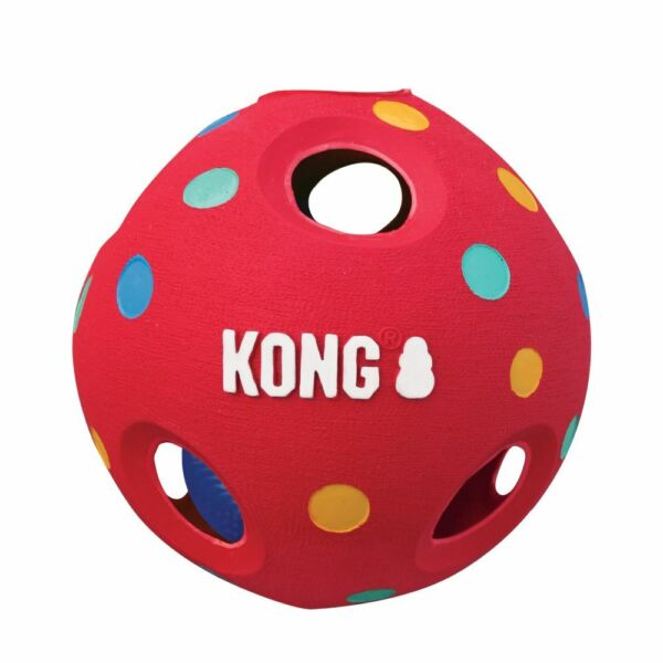 KONG Wiggi Tumble Dog Toy Assorted Size & Colors   Free Shipping