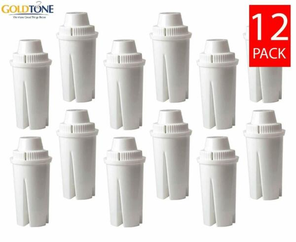 12 Brita Replacement Charcoal Water Pitcher Filters Replaces Brita and Mavea