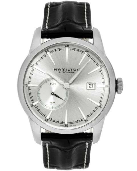 Hamilton Railroad Small Second Date Automatic Men's Watch H40515781