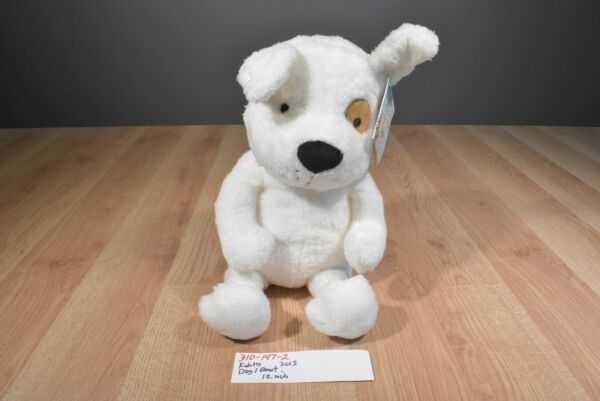 Kohl's If You Give a Dog a Donut White and Brown Dog 2015 plush(310-147-2)