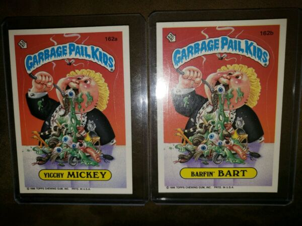 *AUTHENTIC* 1986 Garbage Pail Cards #162ab