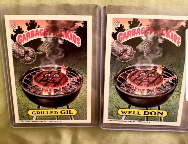 1987 Garbage Pail Kids Cards #259ab~ Well DONGrilled GIL ~ MINTAUTH CARDS
