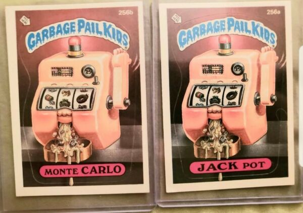 *AUTHENTIC* 1987 Garbage Pail Kids Cards #256ab