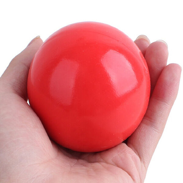 Indestructible Solid Rubber Ball Pet cat Dog Training Chew Play Fetch Bite TRKHV