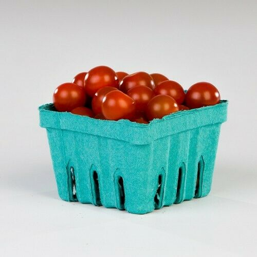 Lot of 250 Quart Fiber Berry Boxes for Strawberry Produce Tomatoes