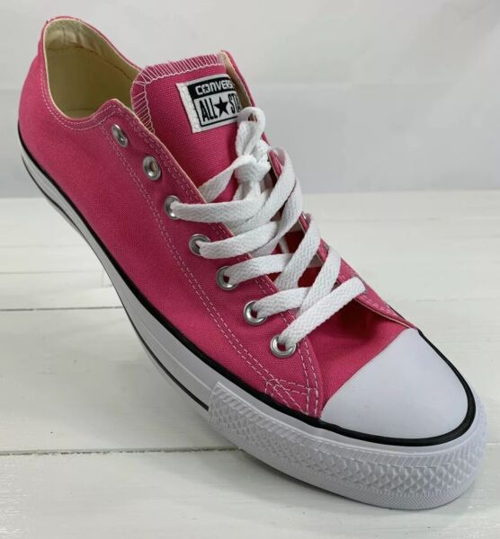 Converse All Star Low Top Unisex Pink Paper Shoes Men's 11 Women's 13 New