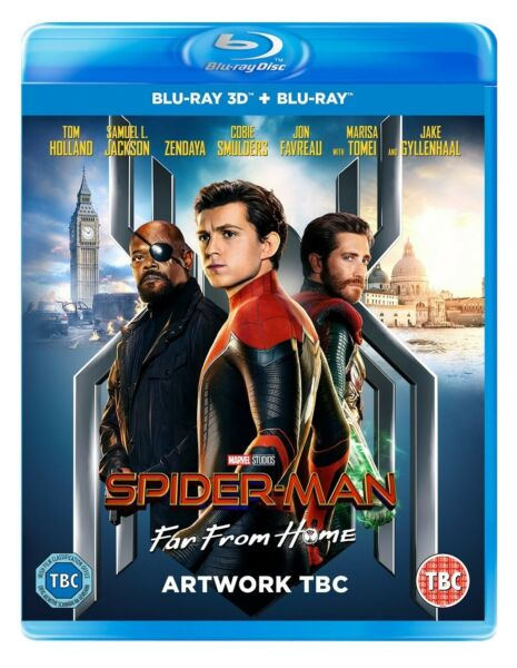 Disney Marvel Studios Spider-Man Far From Home 3D and 2D BLU-RAY PREORDER