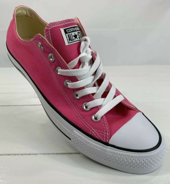 Converse All Star Low Top Unisex Pink Paper Shoes Men's 10 Women's 12 New