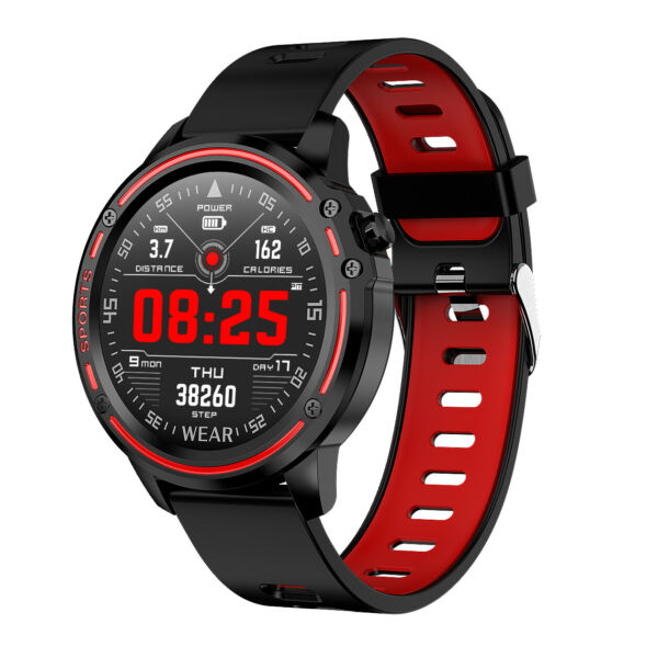 LEMFO Smart Watch ECG PPG Blood Pressure Oxygen Heart Rate IP68 Waterproof Watch