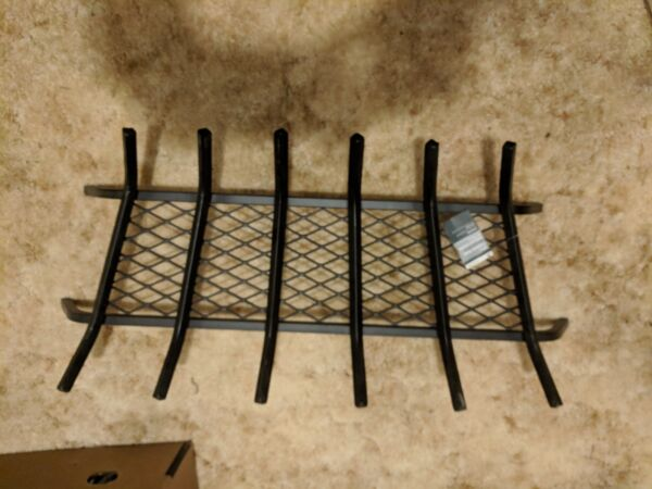NEW Landmann 12 Inches Steel Fireplace Grate 30 Inches with Ember Retainer
