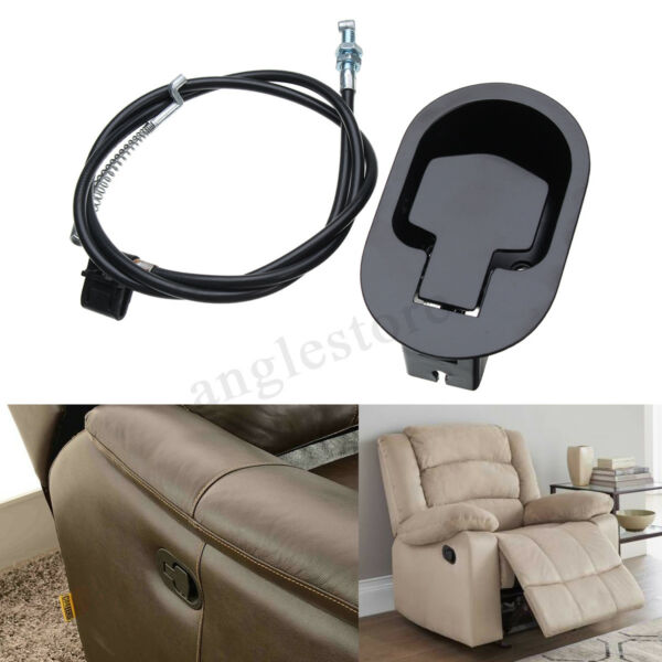 Metal Recliner Handle Release Lever Trigger Cable Sofa Lounge Chair Replacement
