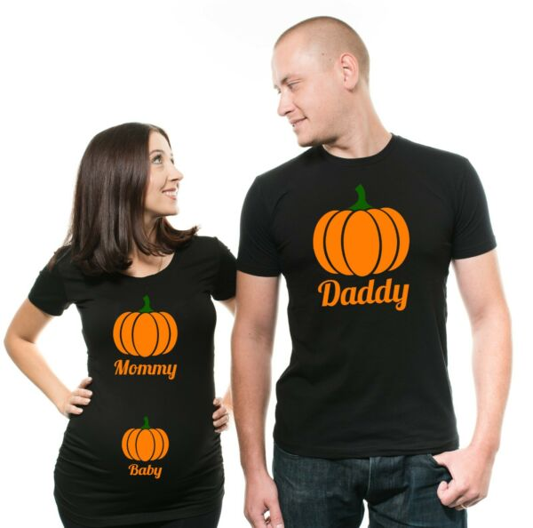 Halloween Maternity Shirts Pregnancy Halloween Couple Costumes For Pregnant $35.00