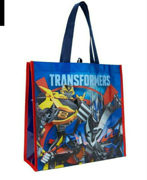 Transformers Tote Bag GREAT FOR HALLOWEEN PARTIES ETC - BUY MORE