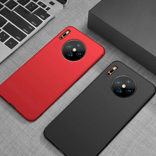 Shockproof Matte Thin Silicone Phone Case Cover for Huawei Mate 30 Pro Lite