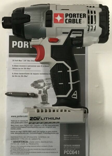 PORTER CABLE PCC641 20V Max Lithium-Ion 14 INCH Hex Impact Driver