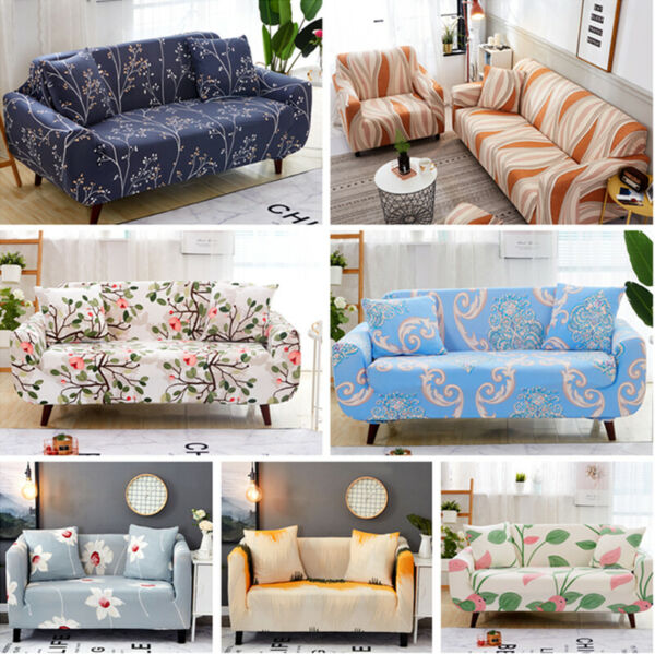 Washable Stretch Sofa Couch Cover Pet Dog Kid Quited Throw Protector Slipcover $36.09