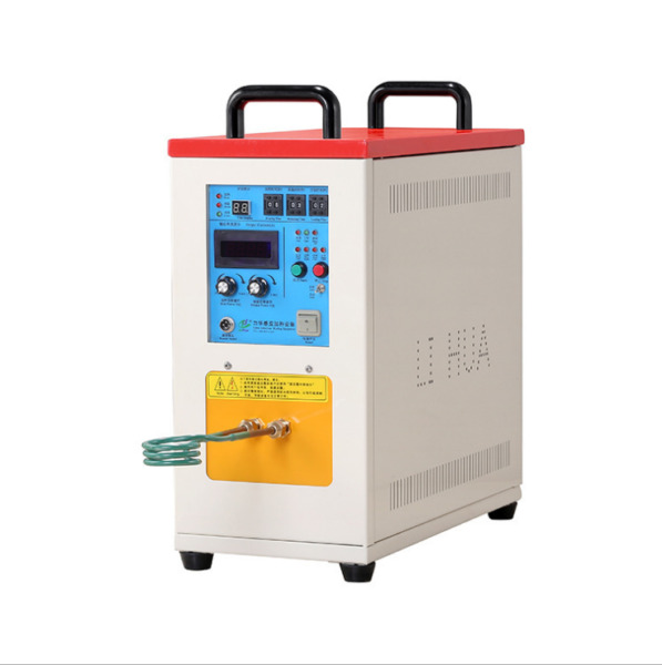 Intbuying High Frequency Induction Heater Furnace Heating Machine 220V 15KW