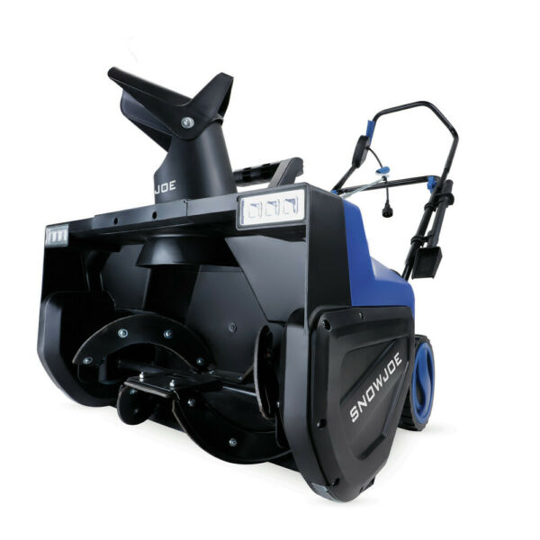 Snow Joe SJ627E 22 in. 15 Amp Snow Blower w Headlight New