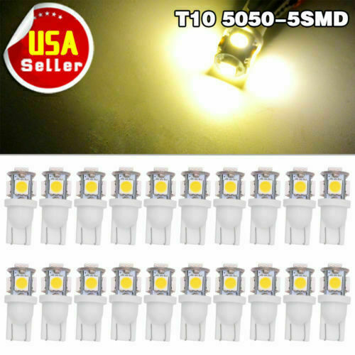 20 pack T15T10 Wedge Bulb warm white LED for Malibu 12V AC DC Landscape Light