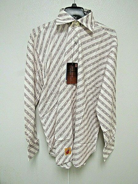 NBA Miami Heat White Button Up Dress Shirt by Headmaster Designer Label $19.99