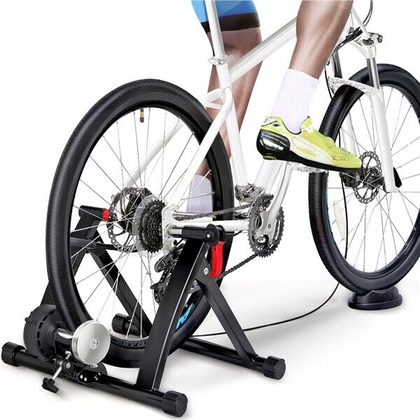 Magnetic Bike Trainer Stand w 6 speed Level for Indoor stationary ExerciseBlack $67.99