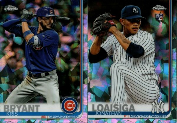 2019 TOPPS CHROME SAPPHIRE BASE REFRACTOR SINGLES w RC #1-250 YOU PICK FOR SET