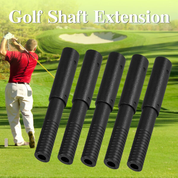 5Pcs Golf Club Graphite Shaft Extensions Rods-Extend Irons Putter Extender Stick