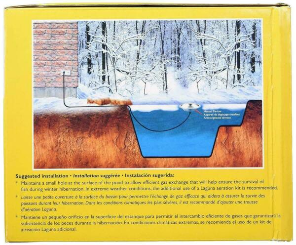 Laguna PowerHeat De-Icer and Aeration Kit for Ponds