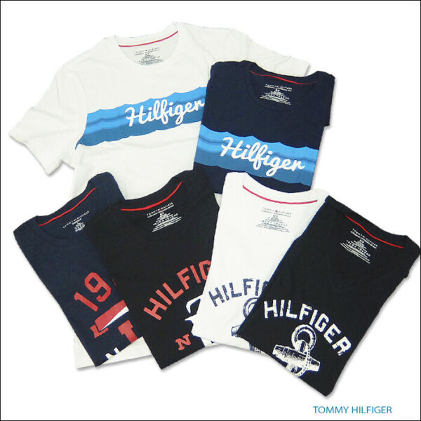 NEW Tommy Hilfiger Graphic Logo T Shirts Mens Casual Tee NEW $27.20