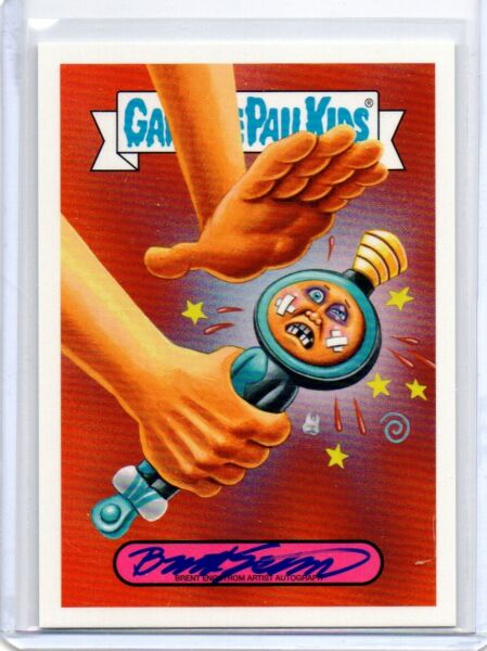 2019 Topps Garbage Pail Kids Authentic Brent Engstrom Autograph Card