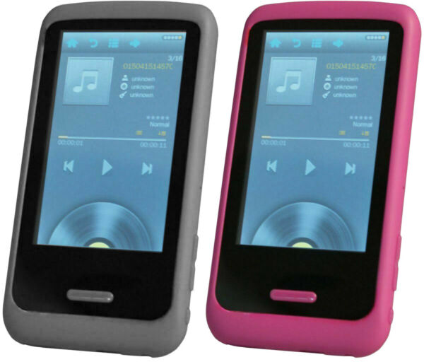 HOTT Touchscreen Digital Music and Video Player with Speaker and FM Radio