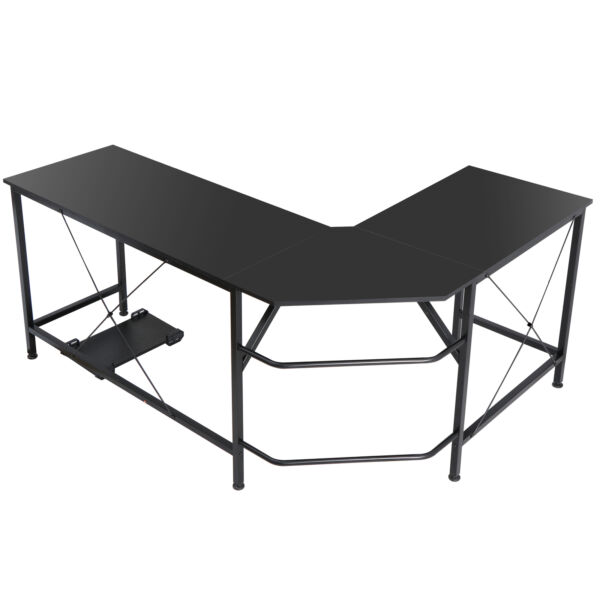 Computer Gaming Laptop Table L Shaped Desk Corner Workstation Office Home Desk