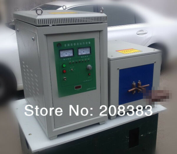 60KW super audio frequency induction smelting equipment quenching melting furnac
