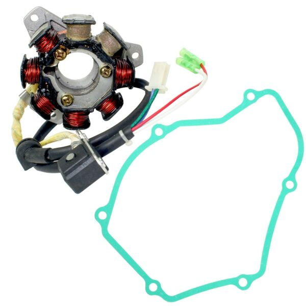 Stator And Gasket For Honda TRX250R Fourtrax 2X4 1986 1987 1988 $48.23