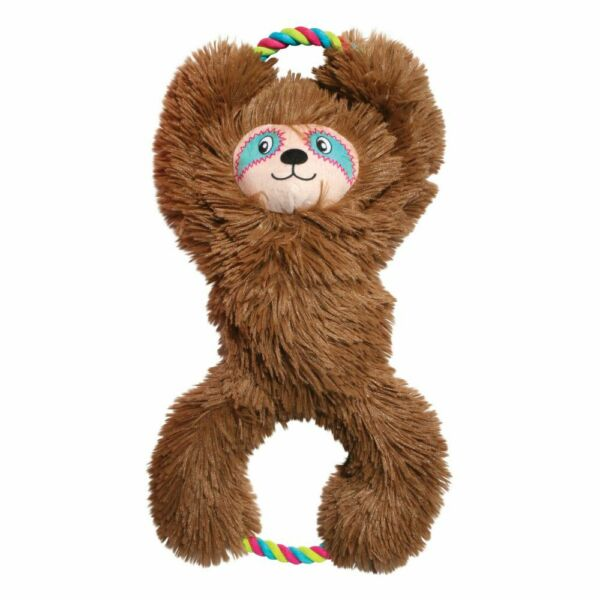 KONG Tuggz Sloth Dog Toy Extra Large   Free Shipping