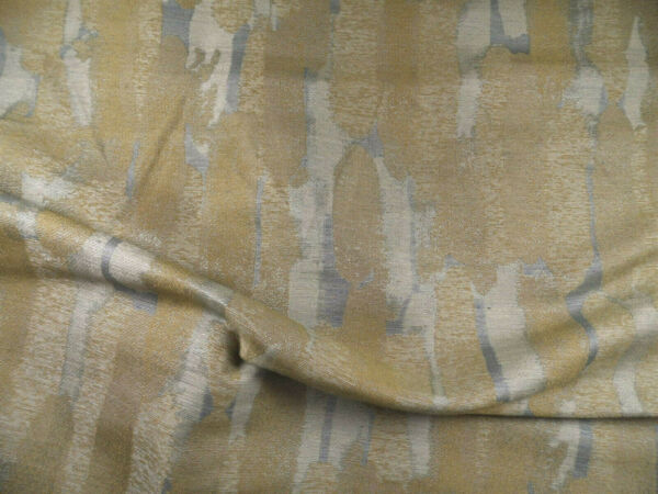 Fabric Robert Allen Beacon Hill Canyon Rivers Slate Taupe Linen Drapery II28
