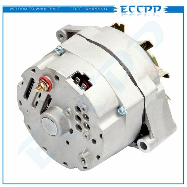 Alternator fits High Output 105Amp 1 Wire 10SI Self exciting SBC BBC GM ADR0151 $68.61
