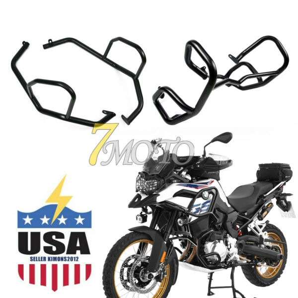 Highway Engine Guard Crash Bars Protector Kit Fit BMW F750GS F850GS US STOCK
