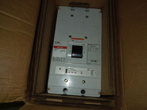 Eaton NGH312032E 1200A Frame 500A-1200A Settings 3P 600V LSI Surplus w Hardware