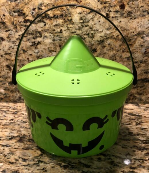 Halloween Witch 1986 Happy Meal Pail & Lid