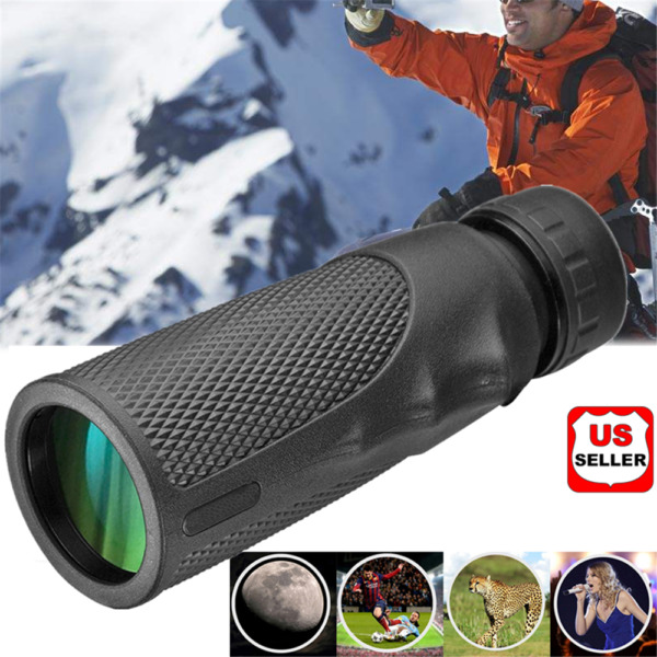 10x25 Pocket Compact Monocular Telescope Outdoor Survival Hunting Scope Prop US