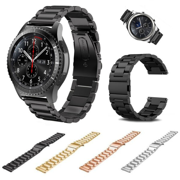 For Samsung Gear S3 FrontierClassic Stainless Steel Watch Band Strap Bracelet