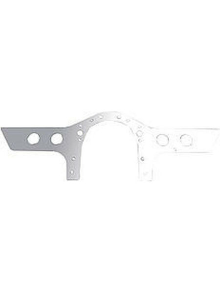 Chassis Engineering Motor Plate Front 36 x 12 x 14 in Thick Aluminum… (CE3692)