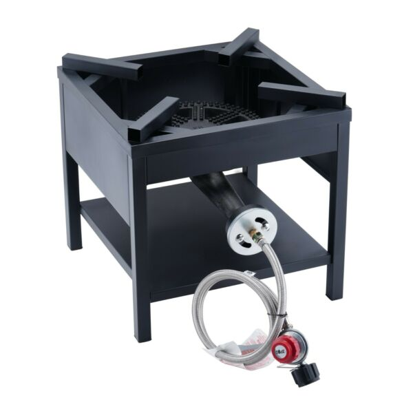 200000 BTU Outdoor High Pressure Cast Iron Propane Burner Gas Camping Stove