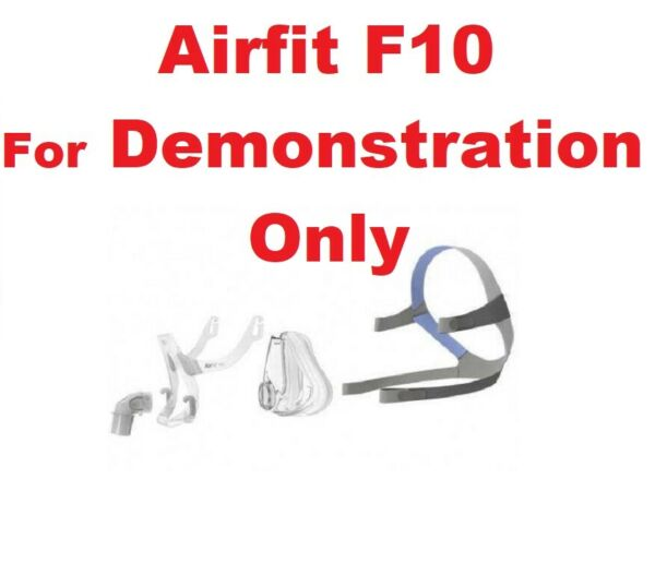 AirFit F10 Full  Replacement Parts as Headgear Cushion Elbow & More