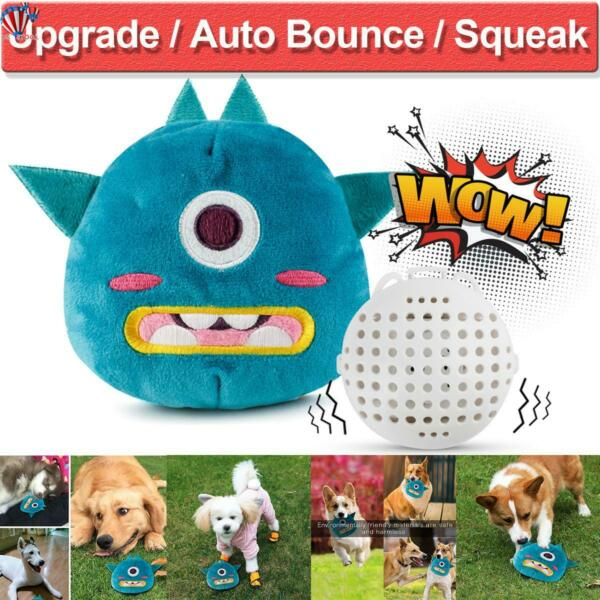Automatic Jumping Dog Plush Electronic Toys Giggle Ball Interactive Squeak Toys $13.79