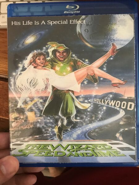 The Wizard of Speed and Time (1988) Blu-Ray Cult Classic - Convention Copy